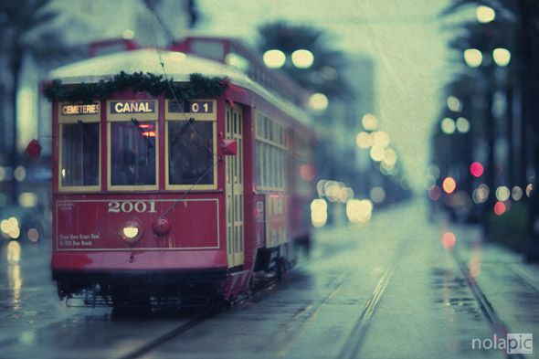 Cable Car In New Orleans: Favorit Place, New Orleans, Canal Street, Tram, Street Cars, Travel, Orleans Streetcar, Photo, Canal St.