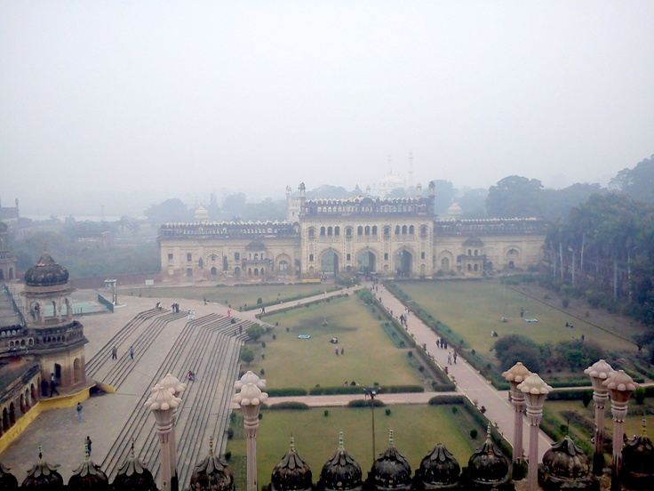 Another view of Imambada Lucknow ,India