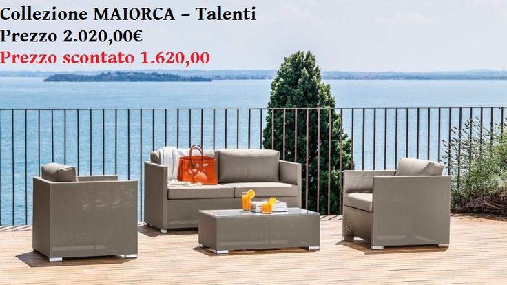 DISPONIBILE IN NEGOZIO FINO AD ESAURIMENTO SCORTE Divano sofa - Talenti Colore Tortora dim. 135x 70 x 60H. cm. n.2 Poltrone LIVING ARMCHAIR- Talenti dim. 68x 70 x 60H. cm. Tavolino - Talenti Cm. 90x 60 x h75 Totale scontato: Euro 1.620,00 Totale: Euro 2.020,00