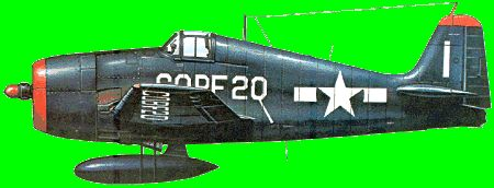 Grumman F6F Hellcat - carrier-borne fighter-bomber