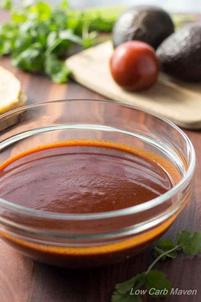 Easy Enchilada Sauce (low carb, gluten-free)