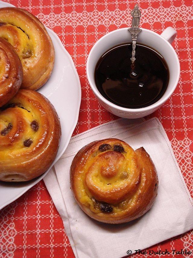 My favorite Dutch pastries: Koffiebroodjes!
