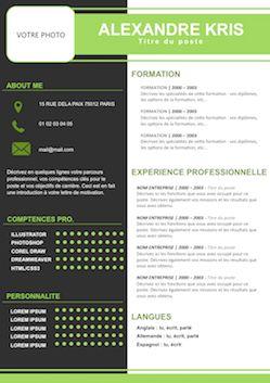 CV sur une page - Exempledecv.com