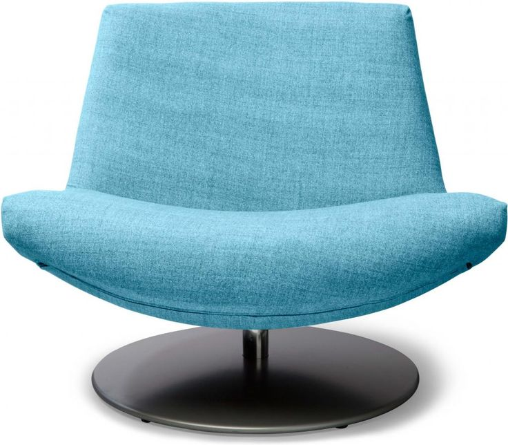 Fauteuil coco blauw gecoat staal dyyk more loft - Fauteuil turquoise contemporain ...