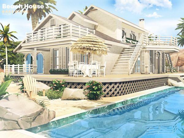 Pralinesims Beach House 3 Beach House Floor Plans Sims House