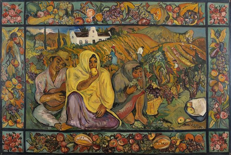 My favourite Irma Stern- Harvest. And i get to see it everyday