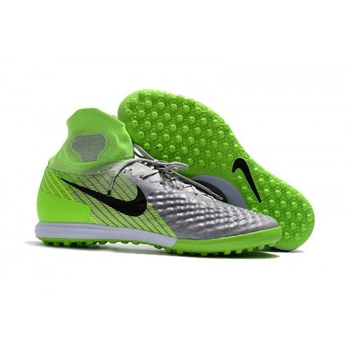 low priced b524c ffe88 Chaussure foot salle Nike MagistaX Proximo II TF Vert Gris achat en ligne