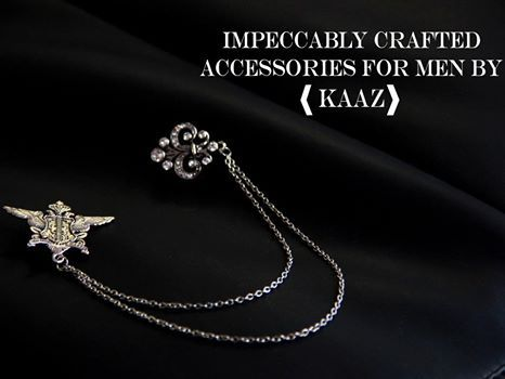 Impeccably Crafted Accessories for Men by #KAAZ KAAZ Contact: 9636297515 #Accessories #kaazjaipur #Jewellery #OnlineStore #CityShorJaipur