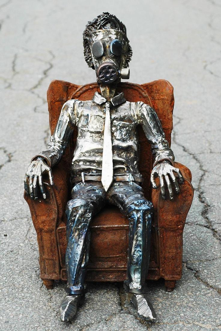 So I finished making this sculpture out of steel todayMetals Sculpture, Features Articles, Art Bible, Reader Art, Iron Art, Juxtapoz Art, Artnownyc 15, Steel Sculpture, Artists Abilities