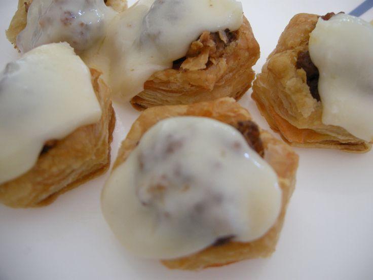 Puff Pastry Meatball Marinara Bites  |  Christy Jordan's Southern Plate