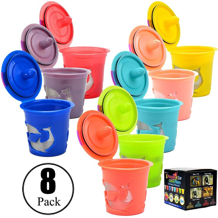 Win 8 Pcs Keurig Reusable K Cup 2.0 filter #Prize link: http://amzn.to/2s7pnXw 2 winners!