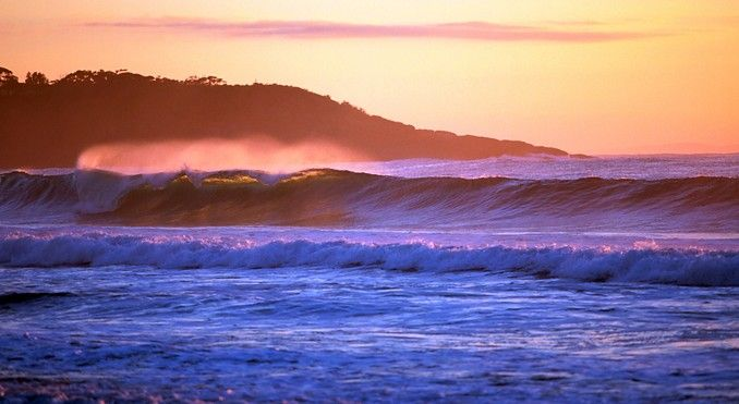 Plenty of places to visit, Mollymook Beach, NSW, Australia.