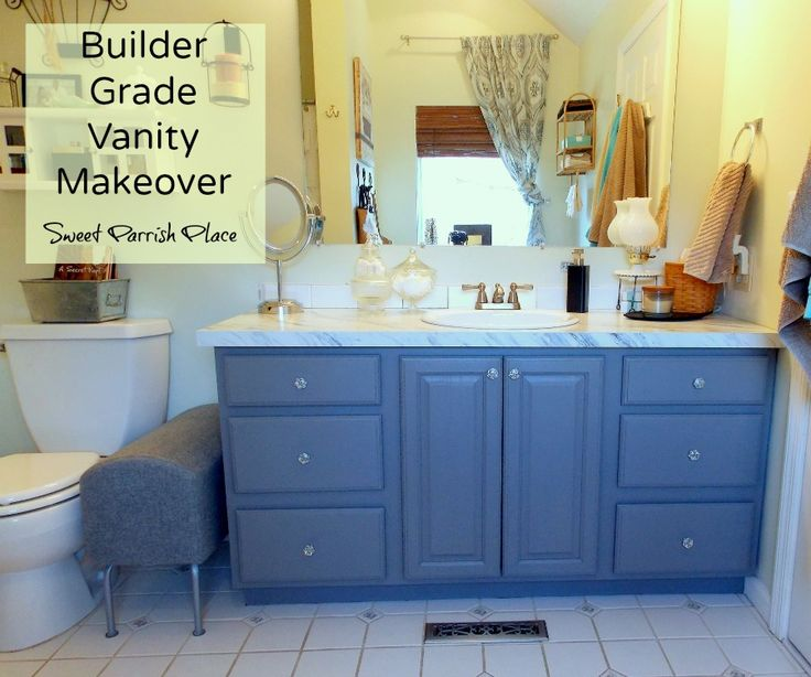 Original Ana White  Builder Grade Vanity  DIY Projects