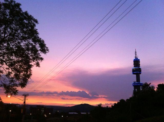 Evening City Scape, Pretoria.
