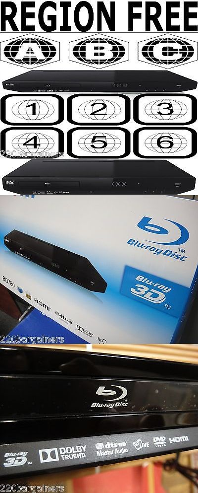 DVD and Blu-ray Players: Ivid Bd780 All Region 3D Blu-Ray Dvd Player Multi Region Code Free Abc, 0-6 Pal -> BUY IT NOW ONLY: $144.95 on eBay!