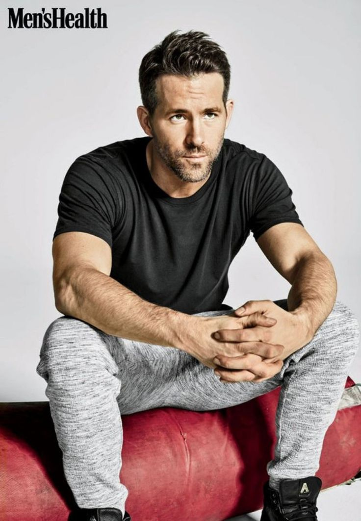 Ryan Reynolds photographed by Ture Lillegraven for Men's Health.