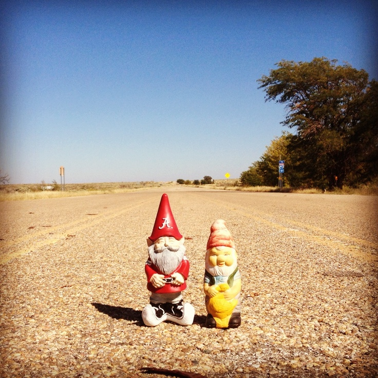 The Gnomes on old Route 66