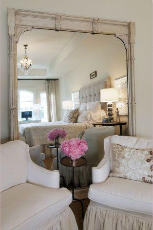 Bedrooms Design Interiors Big Mirrors Club Chairs Master Bedrooms