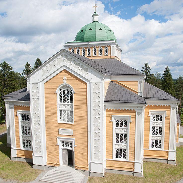 Church in Kerimäki / the world's largest wooden church