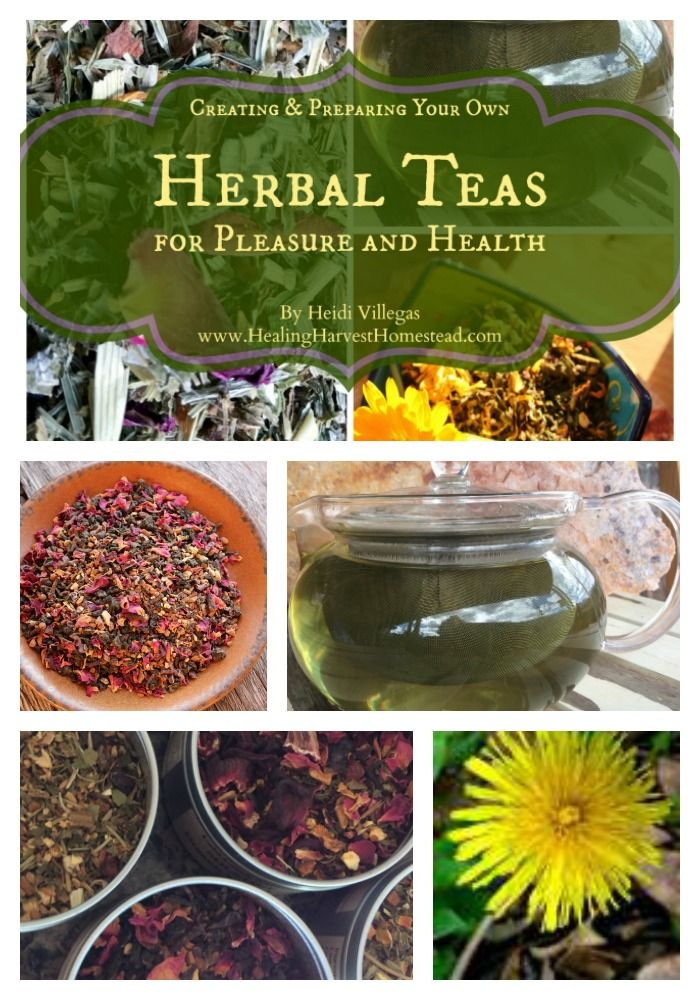 Learn how to create your own delicious and medicinal (if you want) tea blends! You will feel empowered and proud!