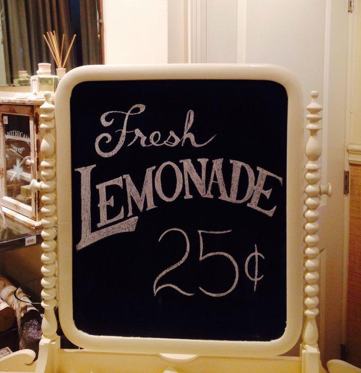 Fresh Lemonade Chalkboard by Dayna Vago Designs