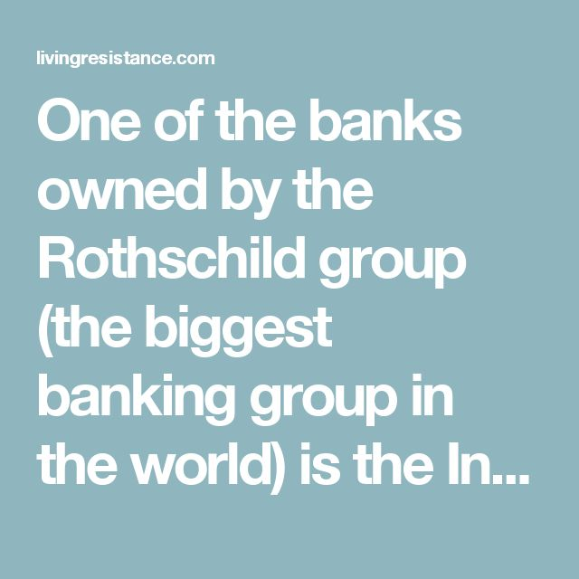 One of the banks owned by the Rothschild group (the biggest banking group in the world) is the International Monetary Fund (IMF), AKA 'Imposing Misery and Famine'. Not only does the group make money off usurious interest rates at the misfortune of crumbling economies, it literally owns Governments and people of power.       Because it's nearly impossible to escape the clutches of the banking group, news of IMF being booted from Hungary is being heralded as a victorious happening.