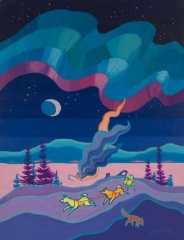 """There are strange things done in the midnight sun.. - """"The Cremation of Sam McGee"""""""
