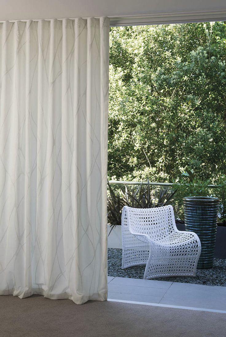S - Fold or ripple fold curtains