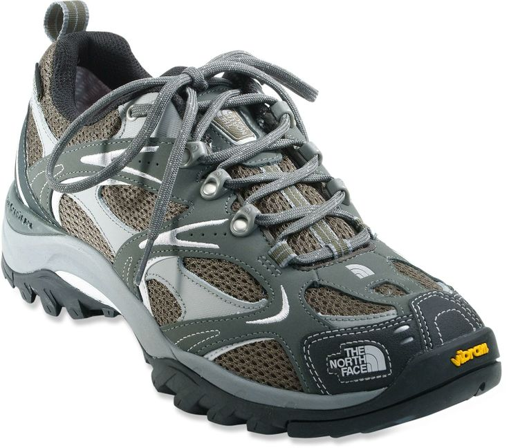 These Hedgehog III GTX XCR hiking shoes from The North Face offer  lightweight construction, a