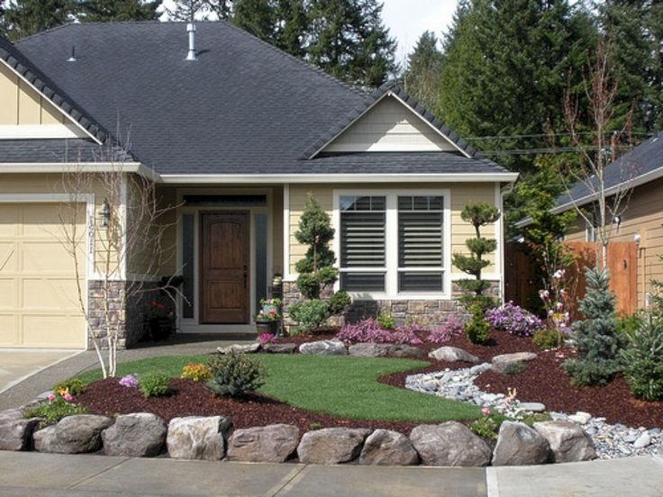 20+ Beautiful Front Yard Landscaping Remodel Ideas ... on Front Yard Renovation Ideas id=40109