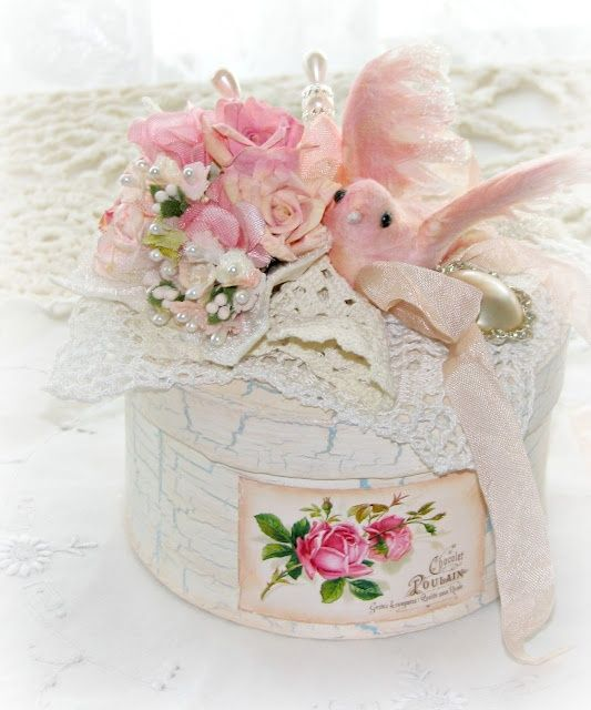 All the things I Love! Vintage...Shabby Chic..and PINK!!! Cats & Pretty things too.....