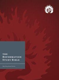 The Reformation Study Bible (NKJV): - Hardcover Crimson, Bible | Ligonier Ministries Store