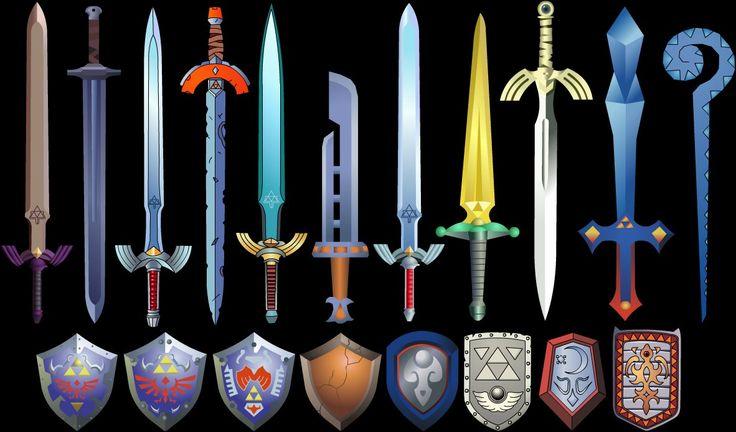 Legend of Zelda, Swords and Sheilds