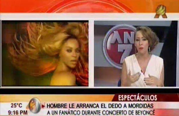 Hombre Arranca Dedo A Mordidas A Un Fan En Concierto De Beyonce #Video