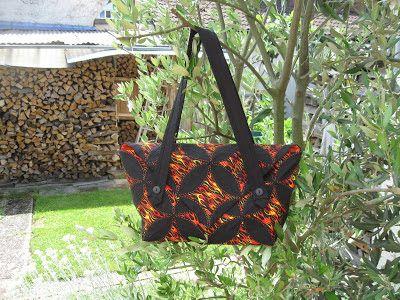 StrickRatte: Tasche -   japanische Falttechnik