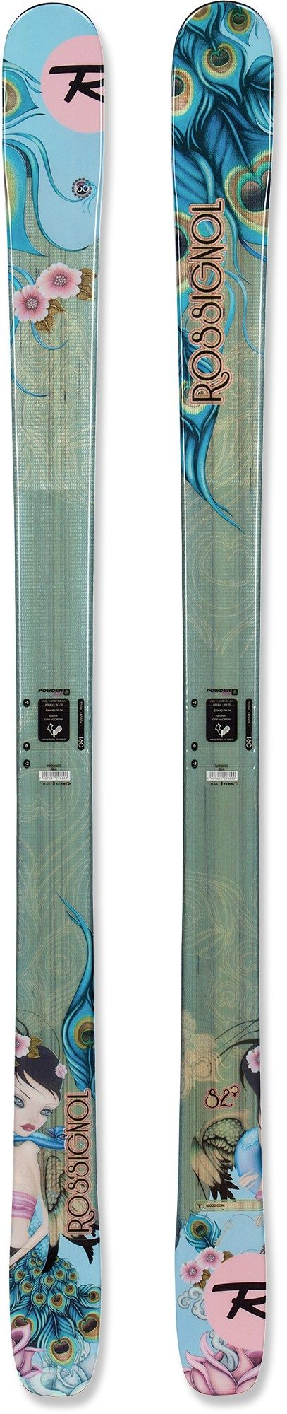 The rossignol sassy 7 women s skis float through powder plow through crud and cruise the