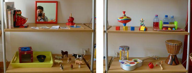 9 best images about am nagement maison montessori on pinterest montessori - Amenagement bureau ikea ...