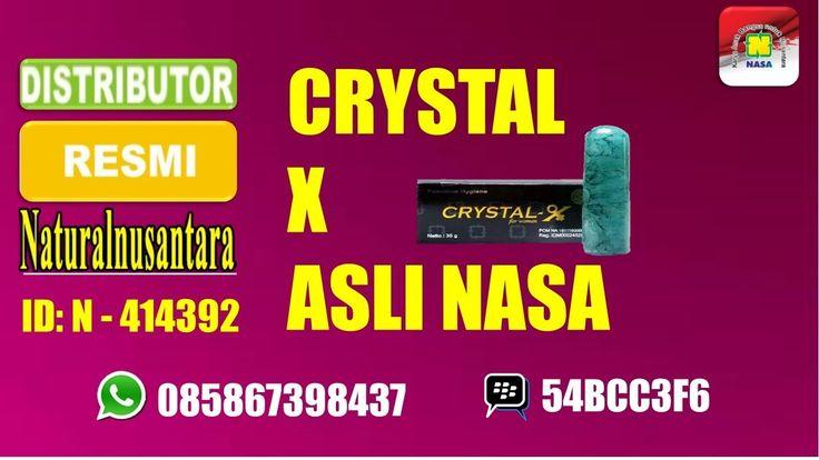 [[[Crystal-X Nasa]]] Untuk Oragan kewanitaan mengatasi Bau&Gatal