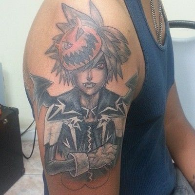 Halloween Town Tattoo