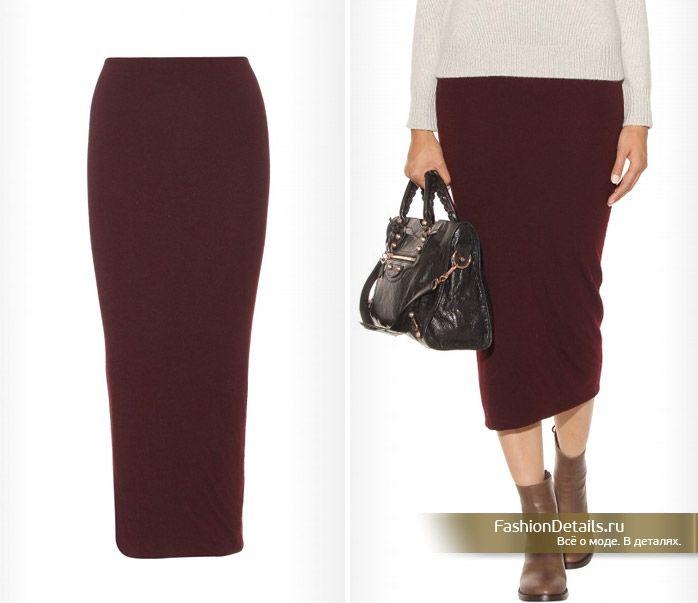 бордовая юбка карандаш с чем носить - Поиск в Google