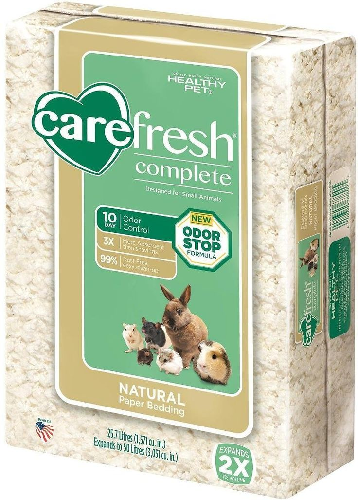 CareFresh Complete White Small Animal Paper Bedding