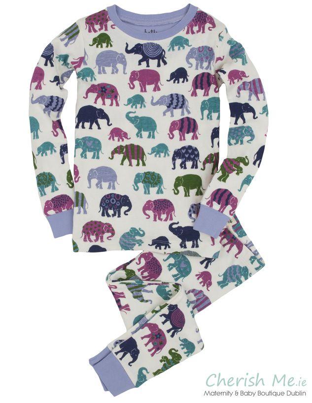 Hatley pyjamas - Patterned elephant