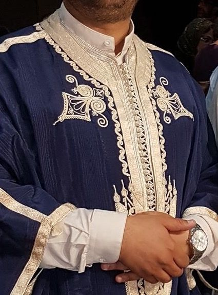 Motif de broderie de la Jebba tunisienne