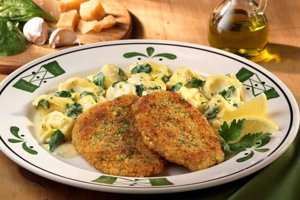 Had to it's at Olive Garden supposedly and looked good!  America's 12 Best Italian Restaurant Chains