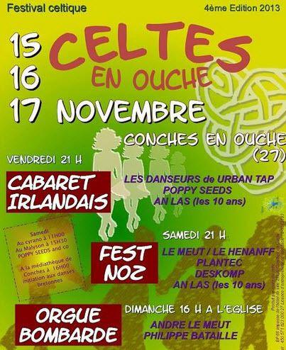 Festival Celtique à Conches en Ouche...