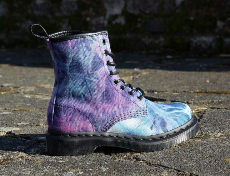 Tie Dye Dr Martens, what else? EXCLUSIVE to SOLETRADER £89.99 & FREE delivery in the UK   http://www.soletrader.co.uk/dr-martens-womens?utm_source=social&utm_medium=pinterest&utm_campaign=pintnost