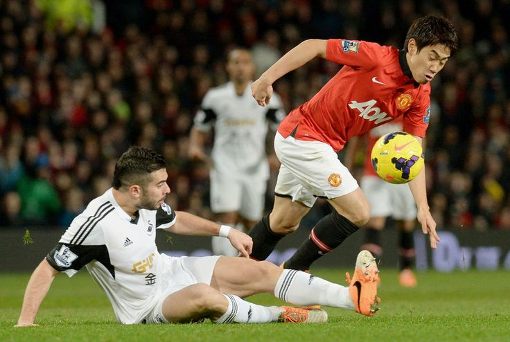 Shinji KAGAWA(Manchester United) contributed to the victory. @ 2014.01.11