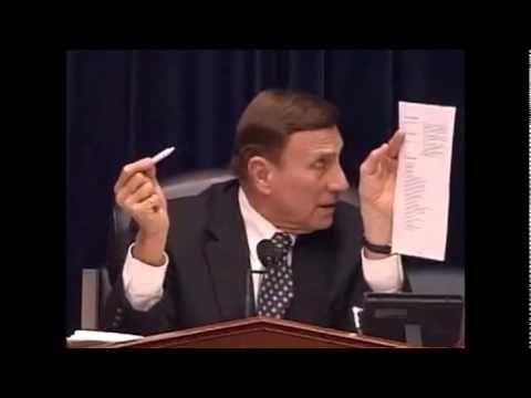 Congressman Pulls Out JOINT During Hearing on Marijuana Laws. John Mica ...