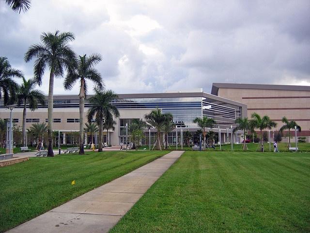 Student Center at Nova Southeastern University in Broward County, Florida