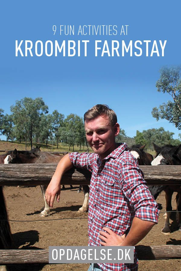 9 fun activities at kroombit farmstay in Australia. Ride a hores, throw a lasso or learn how to shoot.